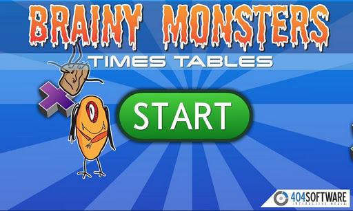 Brainy Monsters Times Tables