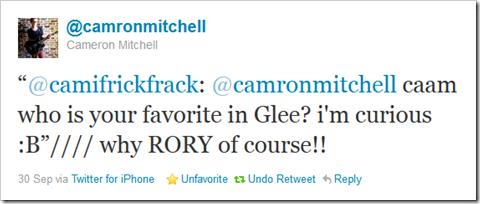 "Twitter - @camronmitchell- ""@camifrickfrack- @camronm ..."