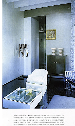This is another image from William from World of Interiors, December 1997, photographed by Ivan Terestchenko.  See how the base molding matches the floor finish.