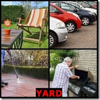 YARD- 4 Pics 1 Word Answers 3 Letters