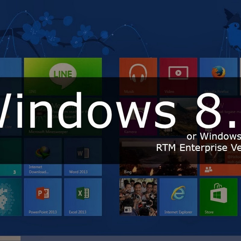 Download Free Windows 8.1 RTM Enterprise