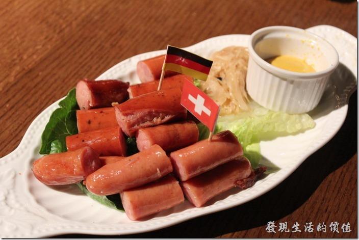 台北-美麗華金色三麥。生日套餐,德國香腸