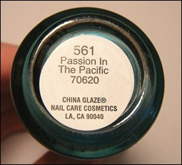 China Glaze Passion in the Pacific