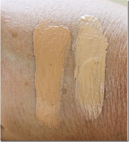 Lumene CC Cream swatch 2