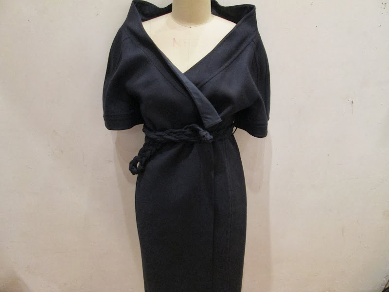 Chado Ralph Rucci Navy Dress