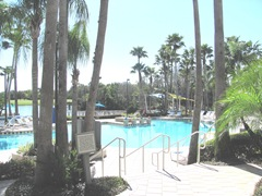 Florida Marriott Cypress Harbour pool area
