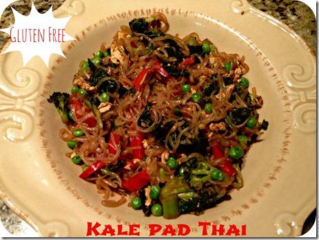kale pad thai