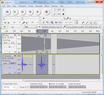 software perekam suara audacity