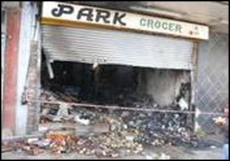 KEMPTON PARK BUTCHERY CAFE BURNS DOWN 6 JUNE2011