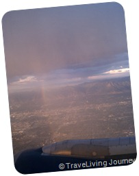 UT from airplane window