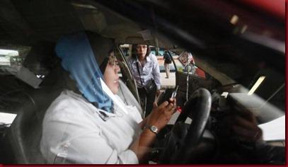 Taksi Unik Khusus Wanita di Malaysia