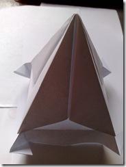 Piramida origami