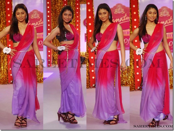 Signature_Fashion_Show_Pink_Purple_Designer_Saree