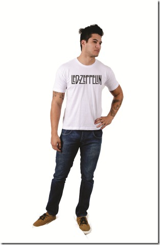Camiseta Led Zeppelin - Camisetas Power