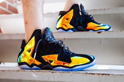 nike lebron 11 nsw sportswear ext kings crown 3 07 Nike LeBron 11 EXT Crown Jewel On Foot & Release Date