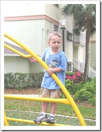Florida vacation at condo playground 3