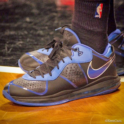 wearing brons nba lebron8 low kyrie irving 02 Kyrie Irving Turns Back the Clock and Goes Back to LeBron 8 V/2 Low