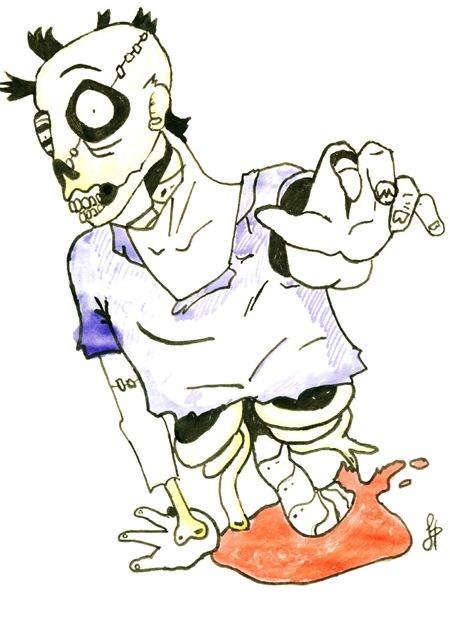 Zombie por Dolores Hernández