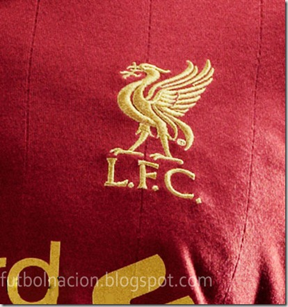 camiseta liverpool 2012