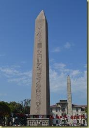Istanbul Hippodrome Pillars