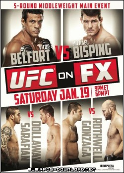 50fbd3ba891d5  UFC on FX 7: Belfort vs. Bisping RMVB + AVI DSR