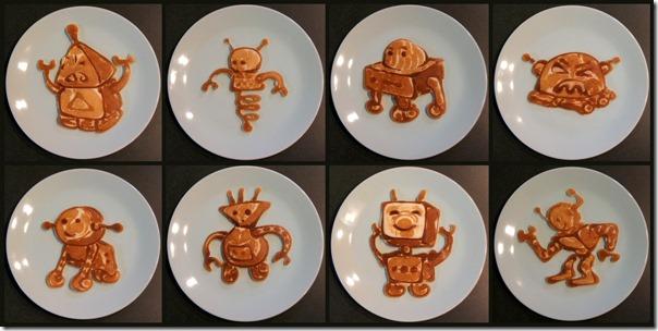 robot pancakes