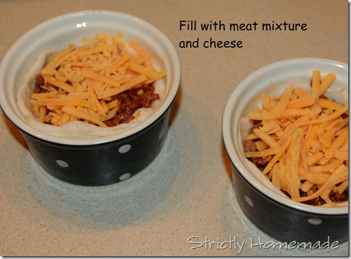 Meat Mixture and cheese