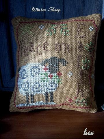 Winter Sheep LHN4