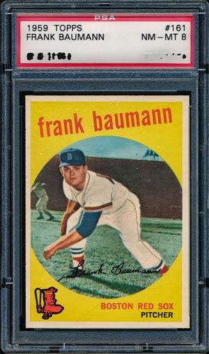 1959 Topps 161 Frank Baumann