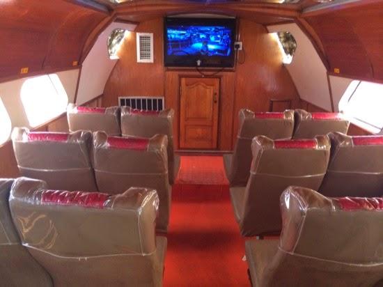 First class (VIP) cabin