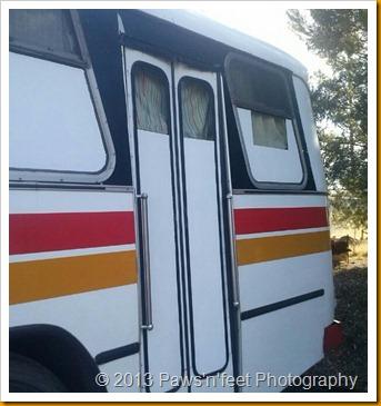 bus windows finished