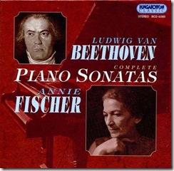Beethoven sonatas piano Fischer