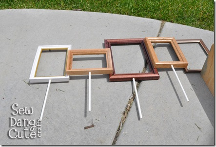 Sticks-in-frames