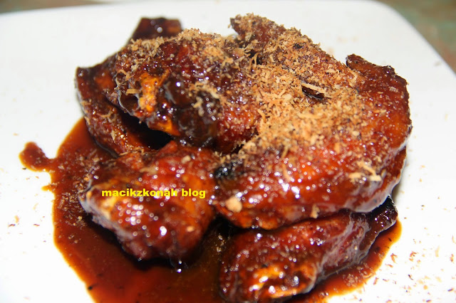 Recipe Gula Melaka Chicken wings