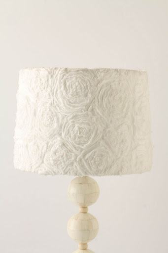 Ranunculus Swirl Shade, $98, anthropologie.com.