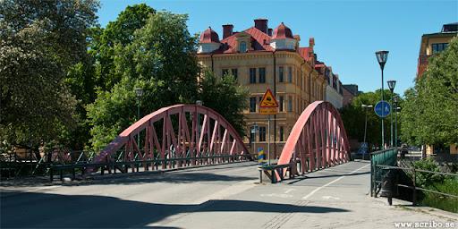 Haglunds bro sedd från öster