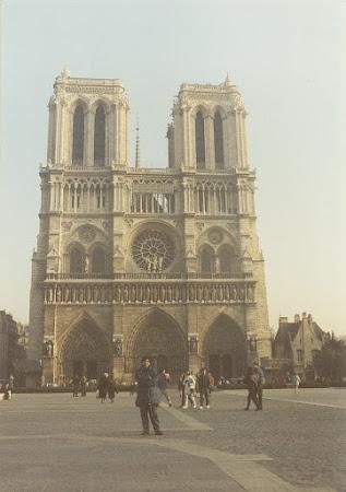 Obiective turistice Franta: Notre Dame Paris