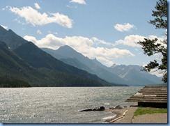 1397 Alberta - Waterton Lakes National Park - town of Waterton - Upper Waterton Lake