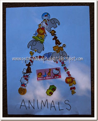 {Preschool Alphabet} A is for Animals