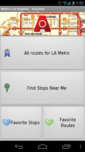 LA Metro: AnyStop