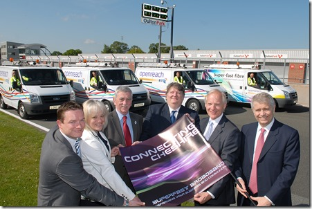 Connecting Cheshire Launch Oulton Park