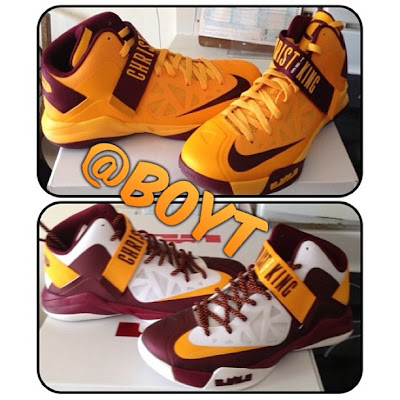 nike zoom soldier 6 pe christ the king away 1 03 First Look at Nike Zoom Soldier VI Christ the King Away PE
