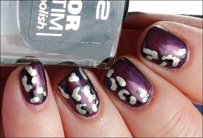 Safari Leo Nails Nail Art 01
