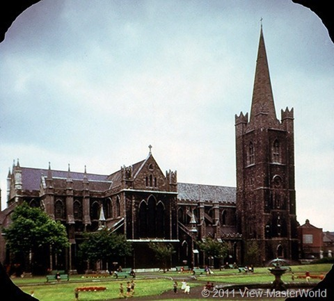 View-Master Dublin Eire and East Coast (C344), Scene 5: St. Patrick's Cathedral