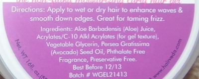 whipped gelly ingredients 2
