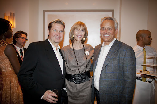 Mark Badgley and James Mischka with Millie Martini Bratten