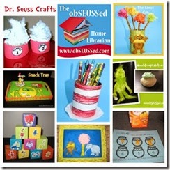 Dr Seuss Crafts by obSEUSSed