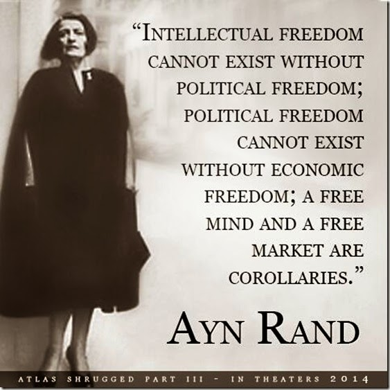 Ayn Rand On Freedom