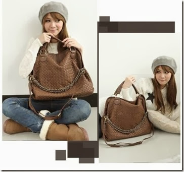 ID 4603 Brown (183.000) - PU Leather, 43 x 33 x 12