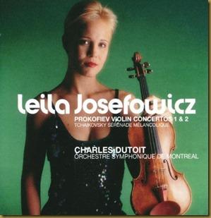 Prokofiev concierto violin 1 Dutoit Josefowicz